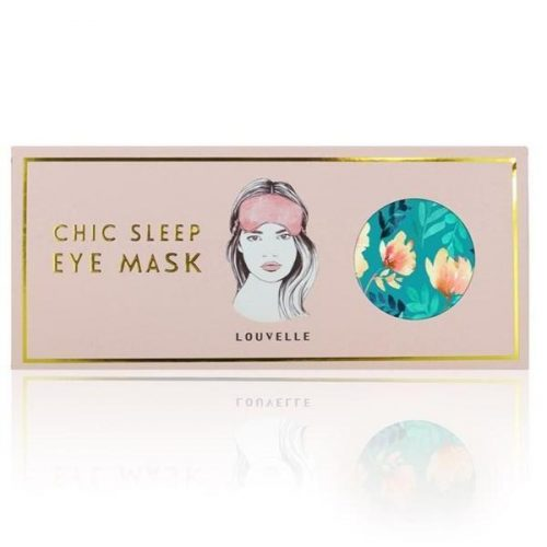 Louvelle Chloe Eye Mask Poolside Peony