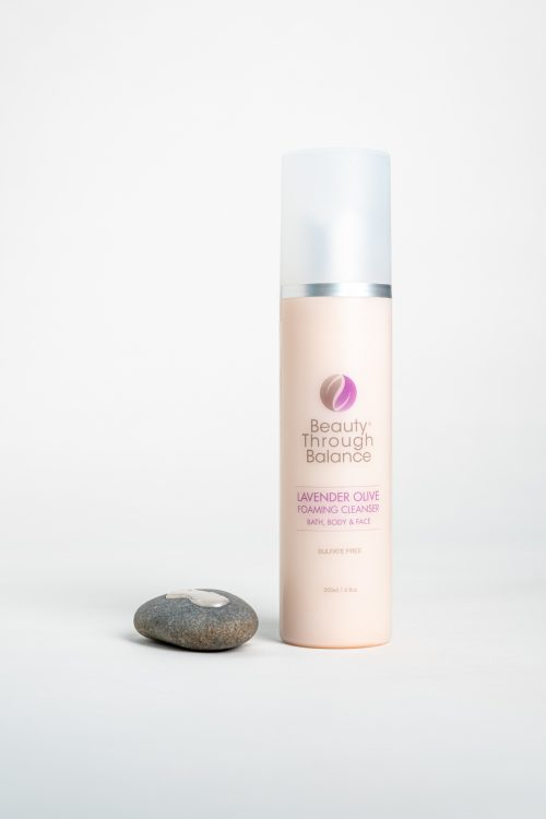lavender olive cleanser