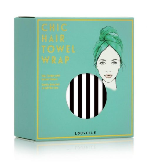 Louvelle Hair Towel Wrap
